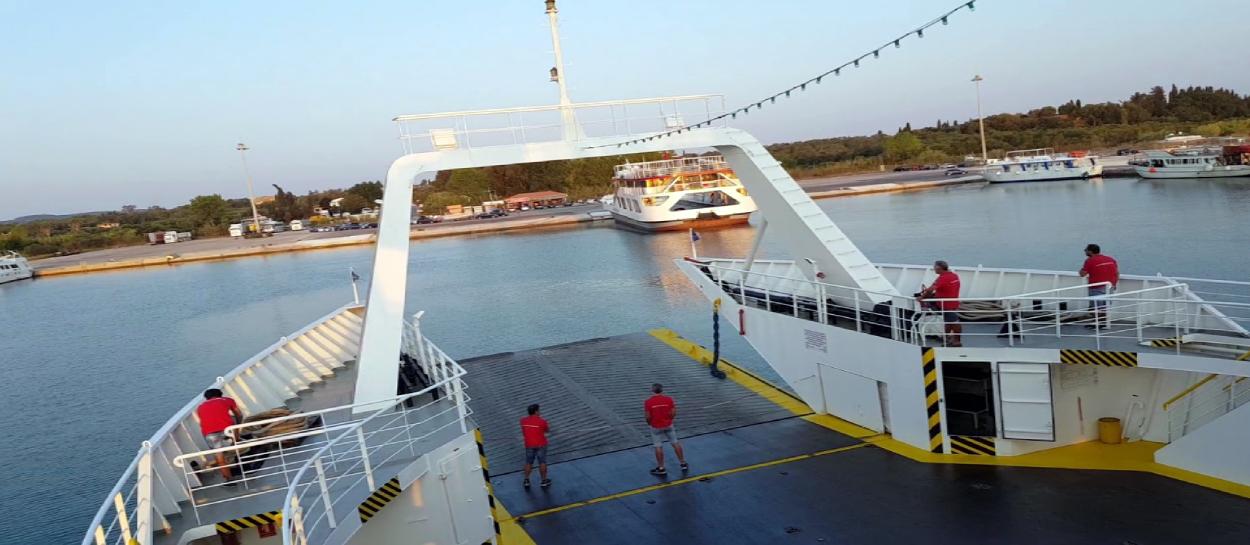 Lefkimmi Port