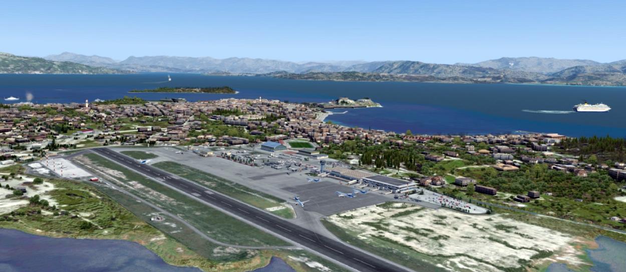 Corfu Airport Ioannis Kapodistrias