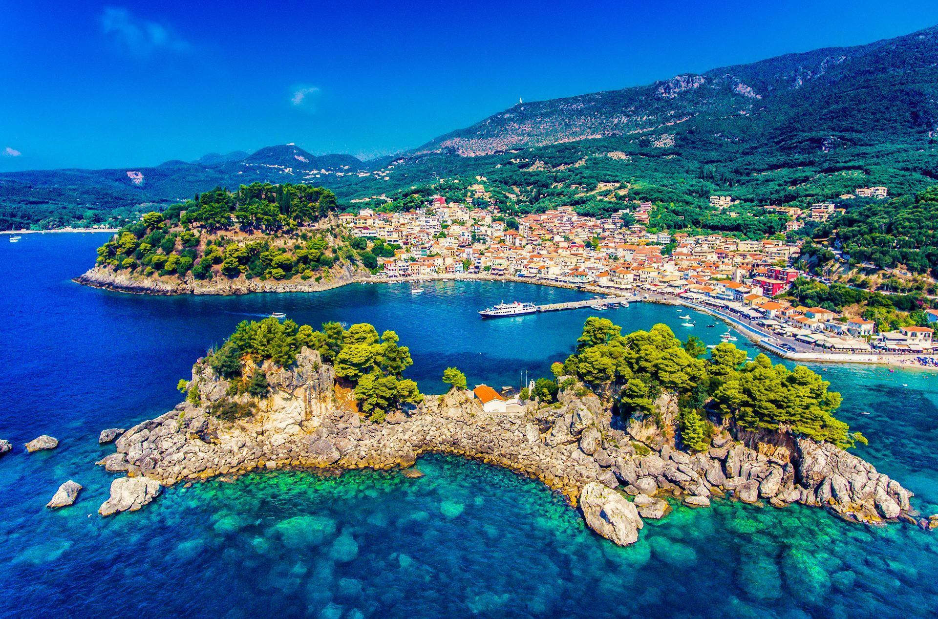 Corfu excursion: PAXOS - PARGA