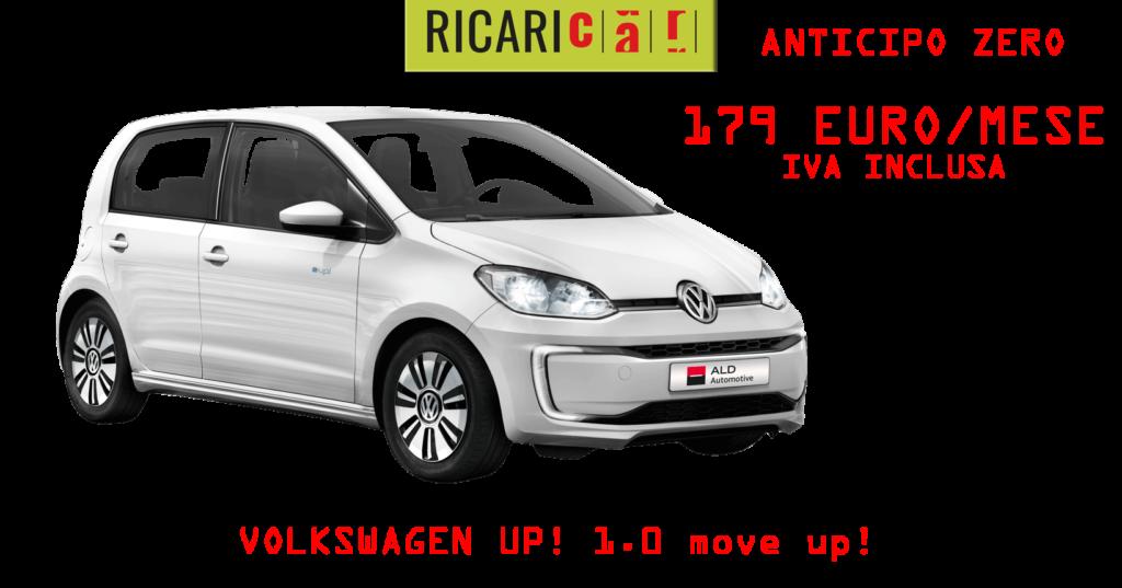 Volkswagen UP! 1.0 move up da € 179 Ricaricar