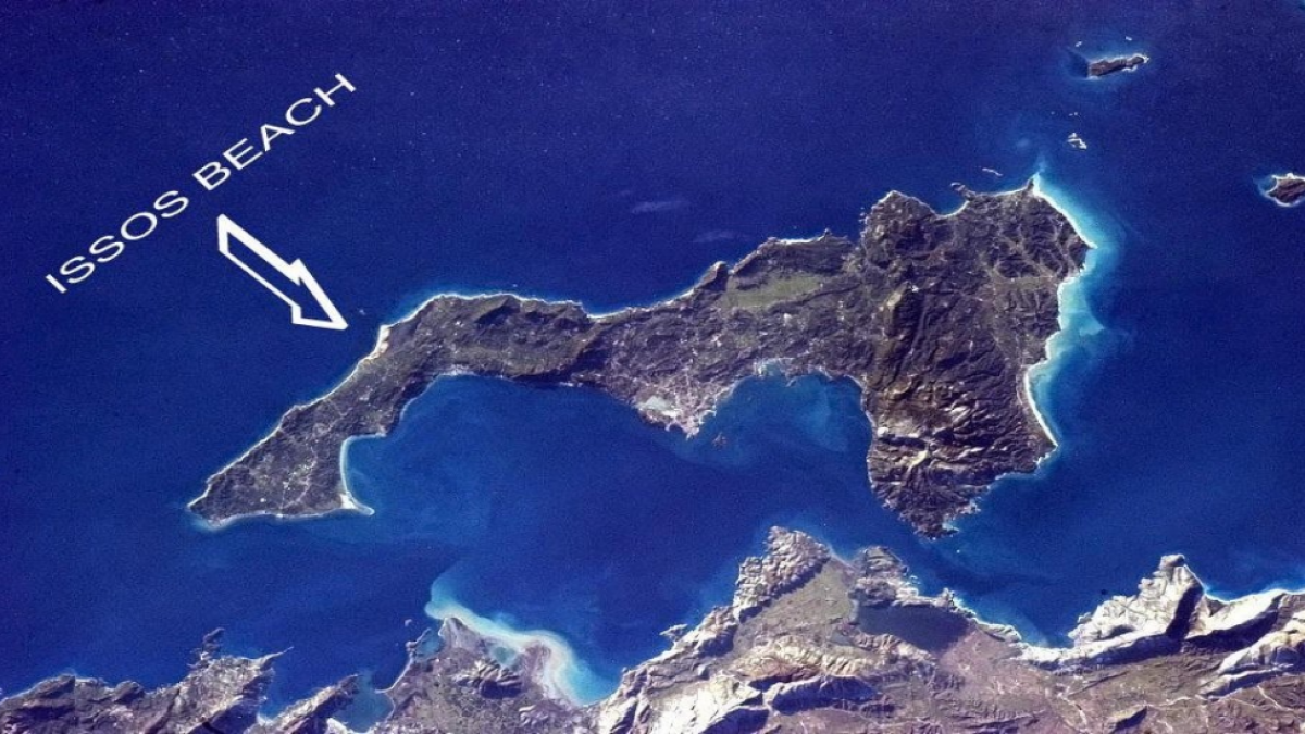 Issos Beach Corfu Greece